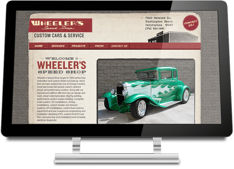 Wheeler's Speed Shop